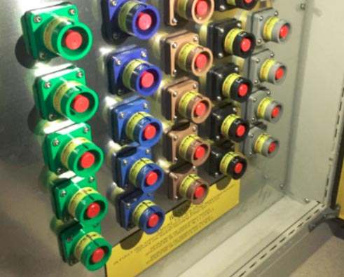 Powersafe Panel Mount Control Panel