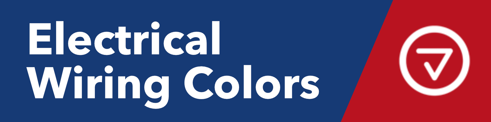 Electrical Wiring Colors