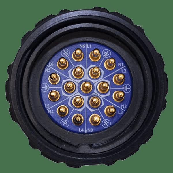19-Pin Socapex Connector