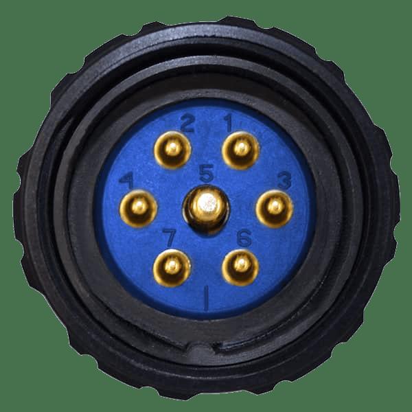 7-Pin Socapex Connector
