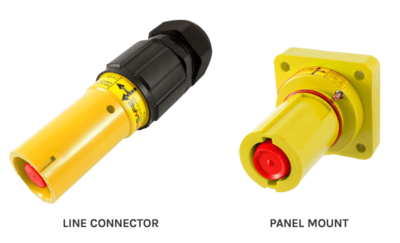 Line Connector & Panel Mount