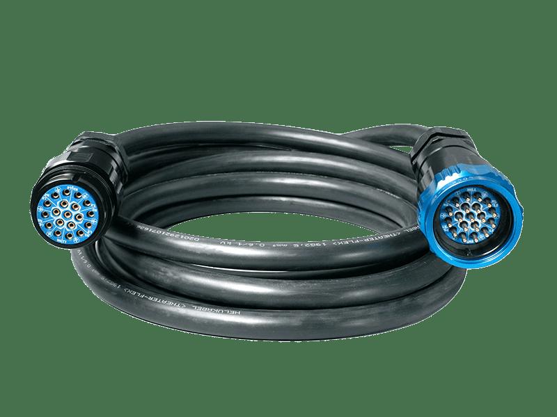 Socapex 19-Pin Cable