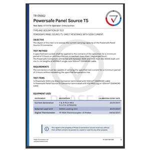 TR-05662 - Powersafe Panel Source T5