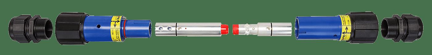 Single Pole Power Connector Breakdown
